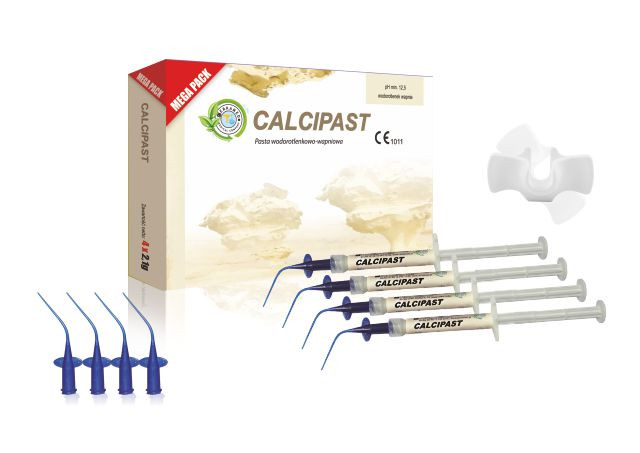 CALCIPAST  MEGA PACK Гидроксид кальция 4 x 2,5г NaviStom