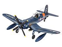 Палубный истребитель F4U-4 Corsair 1:72 Revell 3-й уровень 03955 (03955)