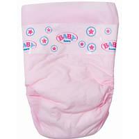 Подгузники для куклы BABY BORN (в наборе 5 шт) (815816)