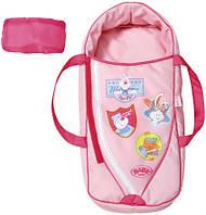 Люлька-переноска для куклы BABY BORN 2 в 1 - СЛАДКИЕ СНЫ  (с подушкой) Zapf 822203 (822203)