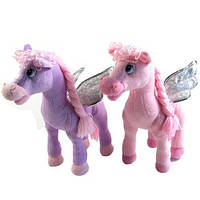 Музыкальная мягкая игрушка - Лошадь с крыльями (LF551A)