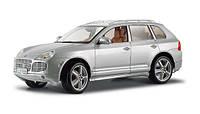 Автомодель (1:18) Porsche Cayenne Exclusive Turbo серебристый (31113 silver)