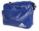 Мужская сумка синего цвета, фото 4