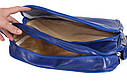 Мужская сумка синего цвета, фото 5