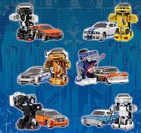 """Автотрансформеры """"Робот-Автомобиль"""", (в ассорт. 6 видов х 2 цвета) (15020)"""