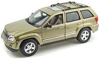 Автомодель (1:18) Jeep Grand Cherokee светлый хакки (31119 lt. khaki)