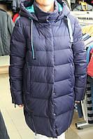 Куртка женская зимняя FLASH GEO 6170 Т.синий
