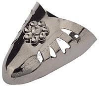 Мыски/носики металлические декоративные №7 Тёмный никель