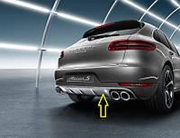 Накладка задней части кузова из нержавеющей стали  | Porsche Macan