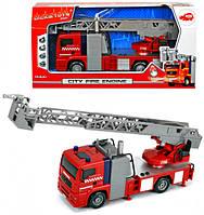 Пожарная машинка Город со световыми и звуковыми эффектами 31 см Dickie  (371 5001)