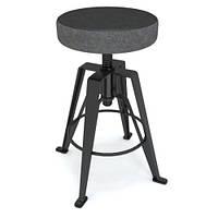 """Дизайнерский полубарный стул """"GAZELLE"""" с мягким сиденьем, фото 1"""