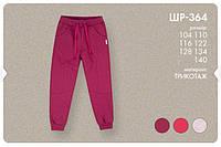 Спортивные штаны для девочки. ШР 364