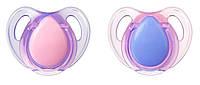 Латексные пустышки, форма вишенка, 0-6 месяцев, (2 штуки), Tommee Tippee, розово-сиреневый (43323640-1)