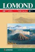 Lomond Односторонняя Глянцевая фотобумага для струйной печати, 10 x 15, 230 г/м2, 50 листов