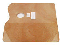 Палитра деревянная прямоугольная 30*40*0,5см, D.K.Art&Craft