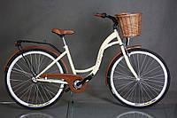 """Велосипед городской Goetze 28"""" 3 передачи Shimano + корзина +фары"""