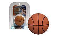 Мячик для метания Мяч баскетбольный PS RC-02-B (резина, силикон, d-60мм, 70гр)