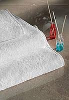 Полотенце белое отельное 420гр/м2  50*90 см