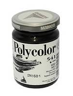 Краска акриловая Polycolor 140мл 541 черный слюдяной