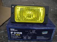 Противотуманные фары на ВАЗ 2110 №1204 (цвет стекла желтый-для тумана).