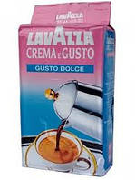 Кофе Lavazza Crema e Gusto Dolce 250 г молотый, фото 1