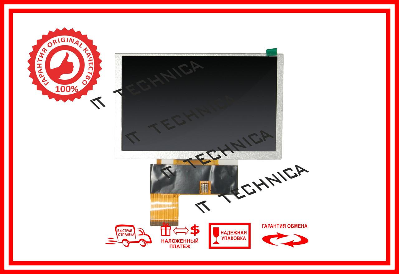 Матриця 120x76mm 40pin 800x480 HW800480F-0F-0L-30
