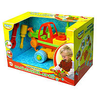 Детская игрушка-конструктор 'Подъемный кран'.BeBeLino (57016)