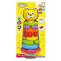 """Детская игрушка-пирамидка 'Оригинальные кольца"""" (57029)"""