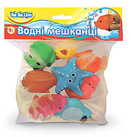 Водные жители, игрушка для игр в воде, укр. упаковка, BeBeLino 57066 (57066)