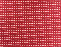 Фетр поделочный (полиэстер) 180г h 2мм  А4 принт (сердца на розовом)
