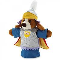 Мягкая игрушка на руку Собака рыцарь, 23см (29976) (29976)