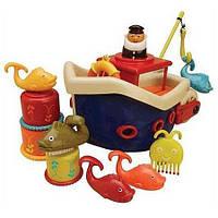 Игровой набор  - ЛОВИСЬ, РЫБКА (для игры в ванной,12 аксессуаров) (BX1012Z)