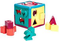 Развивающая игрушка-сортер - УМНЫЙ КУБ (12 форм) (BT2404Z)