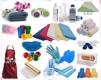 Расходные материалы для салонов красоты и медицинских учреждений