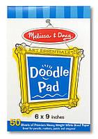 Блокнот для рисования Melissa & Doug 16х23 см (MD4107) (MD4107)