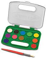 Набор акварельных красок Melissa & Doug, 12 цветов (MD14114) (MD14114)