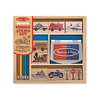 Детские печати «Транспорт» Melissa (MD2409)