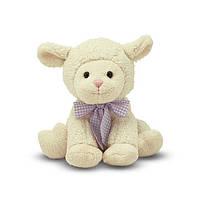Мягкая игрушка Застенчивый ягненок  23 см Melissa&Doug (MD7400)