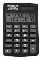 Калькулятор Brilliant bs-100 xbk  (58*88*10мм)