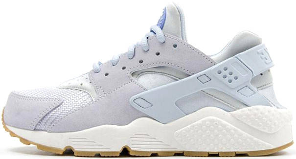 Женские кроссовки Nike Air Huarache Run TXT Light Blue, найк хуарачи, фото 2