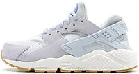 Женские кроссовки Nike Air Huarache Run TXT Light Blue, найк хуарачи