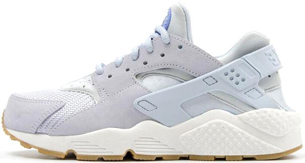 Женские кроссовки Nike Air Huarache Run TXT Light Blue 818597-400, Найк Аир Хуарачи