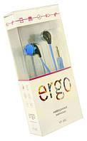 Наушники Ergo VT-101, голубые