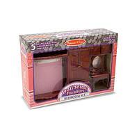 Набор мебели ручной работы для спальни Викторианского домика Melissa&Doug (MD2583)