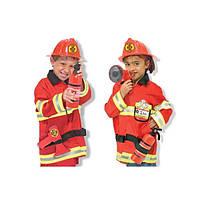 Детский карнавальный костюм Пожарного  Melissa&doug (MD4834)