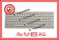 Клавиатура Sony Vaio VPC-EB Series белая с белой рамкой RU/US