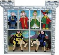 Деревянные фигурки для рыцарского замка (MD285)