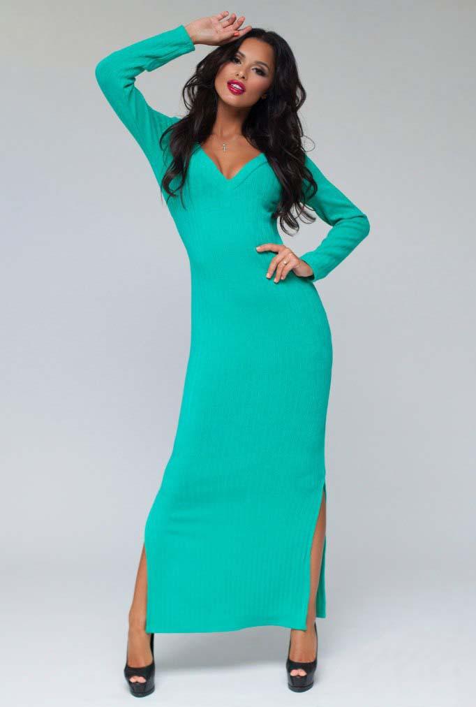 8551192b25b Элегантное длинное женское платье 1254