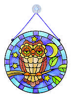 "Owl Витражное стекло ""Сова"" MD9296 (MD9296)"