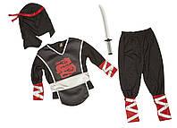 "Костюм Ninja ""Ниндзя"" от 3-6 лет MD8542  (MD8542)"